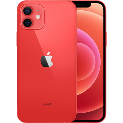 Apple iPhone 12 5G (64GB/PRODUCT(RED)) uden abonnement