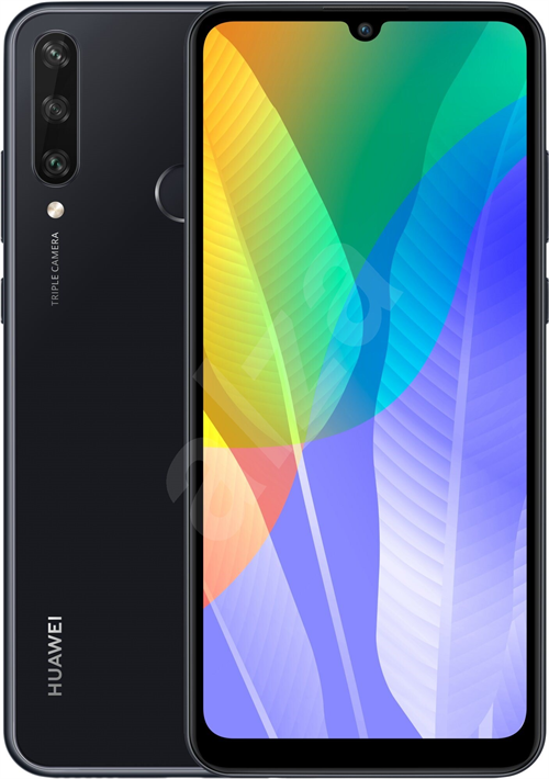 Huawei Y6P Dual Sim 3GB (64GB/Midnight Black) uden abonnement