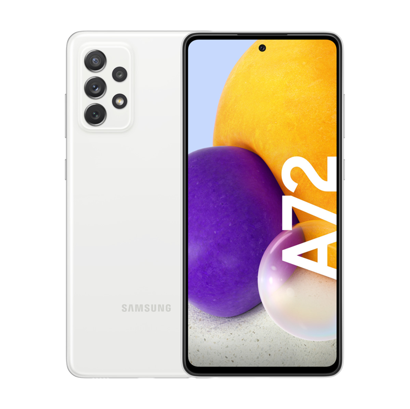 Samsung Galaxy A72 A725 4G (128GB/Awesome White) uden abonnement